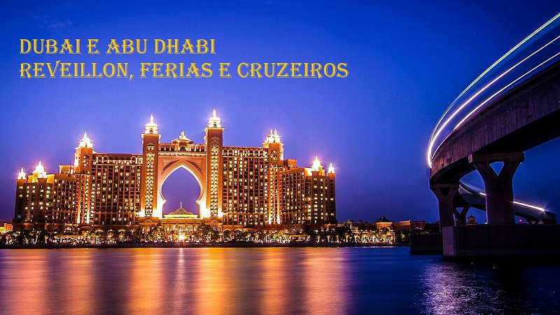 Réveillon em Dubai  e Abu Dhabi 2021/2022